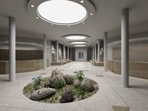 Hotel moderno Imagens de Stock