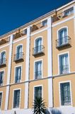 Hotel Montecastillo's facade Royalty Free Stock Images