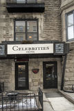 Hotel Montreal das celebridades Imagens de Stock Royalty Free
