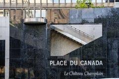 Hotel Montreals Marriott Château Champlain Stockfotos