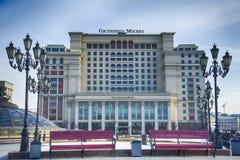 Hotel Moscou de quatro estações, Rússia fotografia de stock