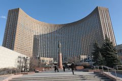 Hotel Moscou do cosmos do espaço Foto de Stock