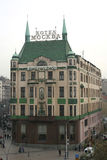 Hotel Moscow in Belgrade Royalty Free Stock Images