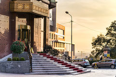Hotel Moskva in Belgrade Royalty Free Stock Image