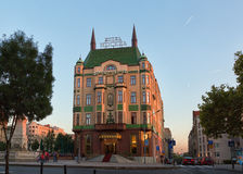 Hotel Moskva is a four star hotel in Belgrade Royalty Free Stock Photography