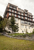 Hotel of Murren Royalty Free Stock Images