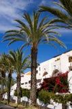 Hotel na plażowym (Tenerife) Obrazy Royalty Free