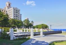 Hotel Nacional de Cuba. Area of Hotel Nacional de Cuba. Havana Royalty Free Stock Photos