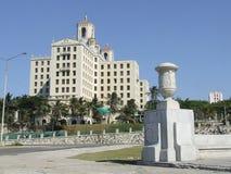 Hotel nacional de Cuba, cerca del Malecon Fotografía de archivo