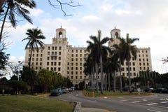 Hotel nacional de Cuba en La Habana fotografía de archivo libre de regalías
