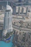 Hotel nahe Burj Halifa in Dubai Lizenzfreies Stockfoto