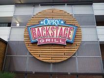 Hotel nahe großartigen Ole Opry Music Centre in Nashville Tennessee USA lizenzfreies stockbild