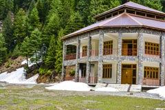 Hotel in Naran Kaghan Valley, Pakistan lizenzfreie stockfotografie