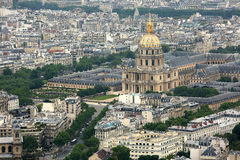 Hotel National des Invalides in Paris Royalty Free Stock Photo