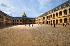 Hotel National des Invalides in Paris Stock Image