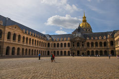 Hotel National des Invalides in Paris Royalty Free Stock Photography