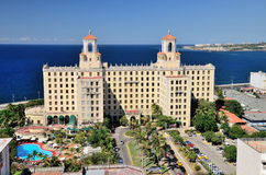Hotel National in Havana, Cuba Royalty Free Stock Photo