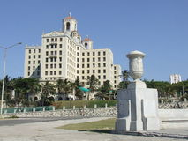 Hotel nazionale della Cuba, vicino al Malecon Fotografia Stock