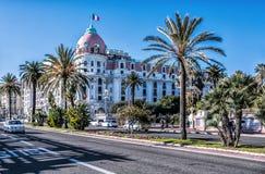 Hotel Negresco Imagens de Stock Royalty Free