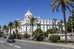 The Hotel Negresco in Nice in France Royalty Free Stock Photography