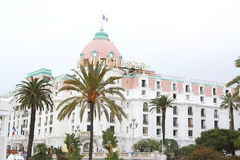 Hotel Negresco in Nice (France) Royalty Free Stock Images