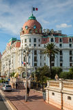 Hotel Negresco in Nice, France Royalty Free Stock Images