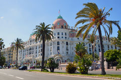 Hotel Negresco Stock Photo