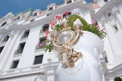Hotel Negresco, Promenade des Anglais, Nizza, Alpes Maritimes, Co Fotografia Stock