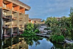 Hotel nel sud della Tailandia Fotografie Stock Libere da Diritti