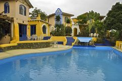 Hotel nell'Ecuador Fotografia Stock