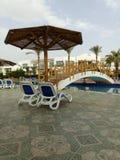 Hotel nell'Egitto fotografie stock