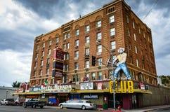 Hotel Nevada - Ely, Nevada fotos de archivo libres de regalías