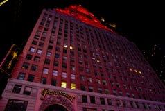Hotel New York di Paramount Fotografia Stock