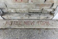 Hotel New York - Havana, Cuba Royalty Free Stock Image