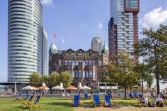 Hotel New York in Rotterdam stockfotos