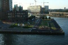 Hotel New York rotterdam Países Baixos fotos de stock royalty free