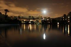 Hotel by night Stock Photo