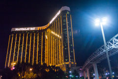 Hotel by night royalty free stock photography