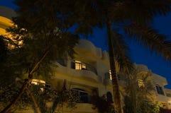Hotel no nigt Imagem de Stock
