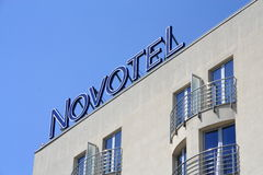 Hotel Novotel Lizenzfreie Stockfotografie