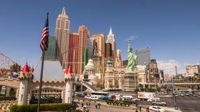 Hotel Nueva York Nueva York Las Vegas - LAS VEGAS, NEVADA APRIL 12, 2015 Imagenes de archivo