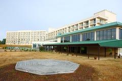 Hotel in ochtend in buffels Royalty-vrije Stock Foto's