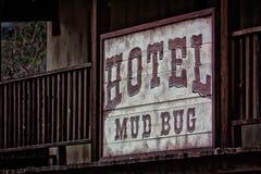 Hotel ocidental velho imagem de stock