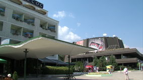 Hotel Odessos and Concert Complex Varna stock video