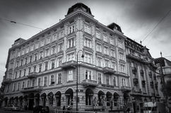 Hotel ohne Soucci in Wien Stockbild