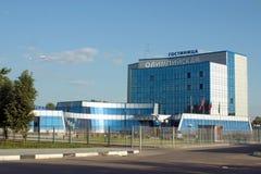 El edificio moderno en la región de Moscú, Rusia Imágenes de archivo libres de regalías
