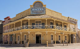 Hotel In Old Tucson Royalty Free Stock Photo