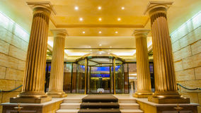 Hotel olimpico reale di Atene fotografia stock