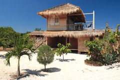 Hotel op eiland Lombok. Stock Fotografie
