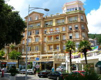 Hotel in Opatija, Croatia Royalty Free Stock Image